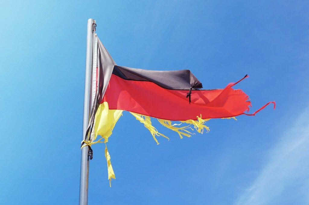 germany, flag, bundestagswahl